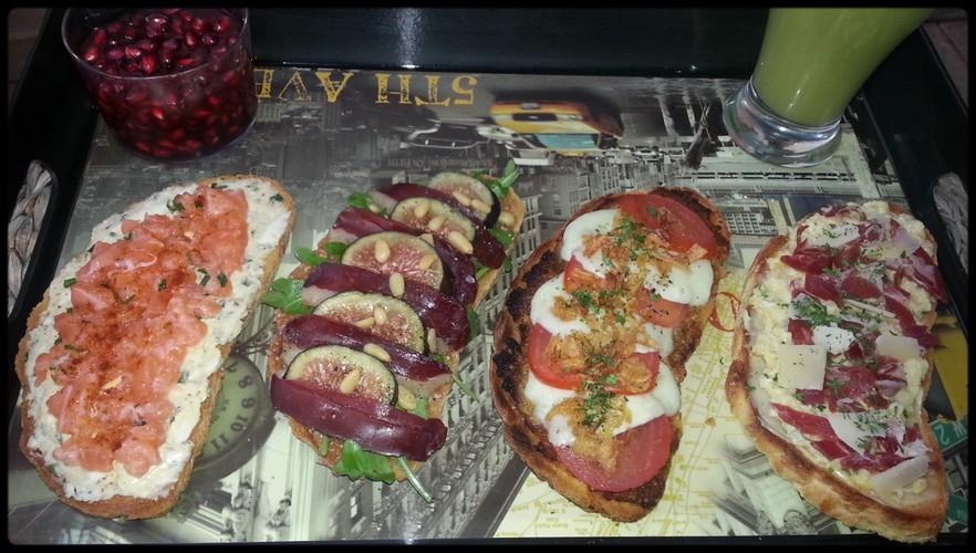 Photos et recettes des défis culinaires Gouter