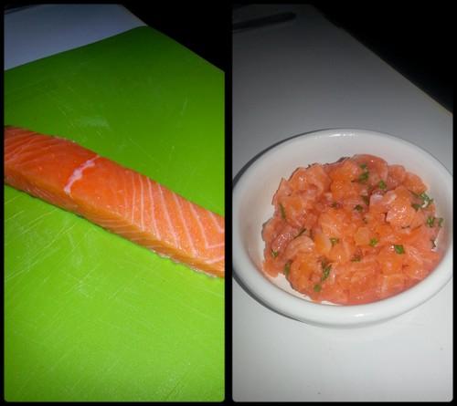 Photos et recettes des défis culinaires Saumon