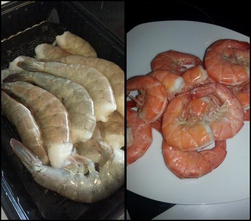 Photos et recettes des défis culinaires Crevettes